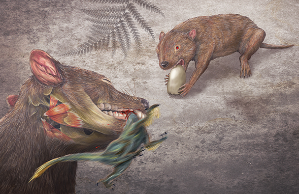 Going Tooth-to-Tooth with Dinosaurs