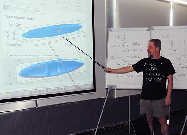 Ricardo teaches in Greece