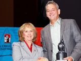 Chris Rasmussen receives Monty Award