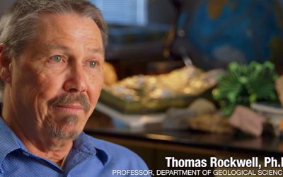 2018 Distinguished Faculty Award: Geological Sciences Professor, Thomas Rockwell