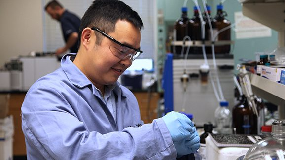 SDSU Discovery May Lower Cost of Making Pharmaceuticals