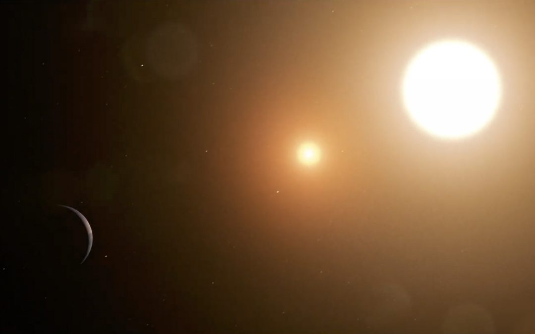 Astronomers Pinpoint Two New Double-Star Planetary Systems